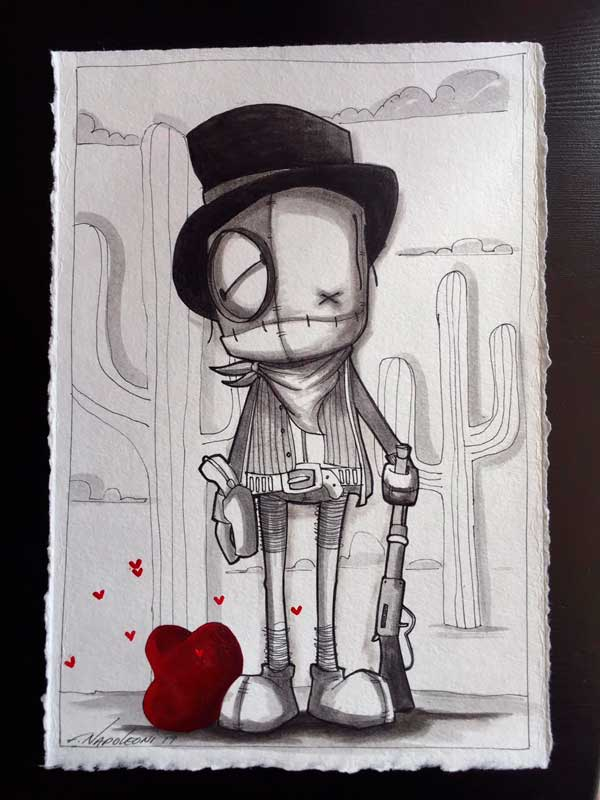 Marcenvio The Kid, Fabio Napoleoni